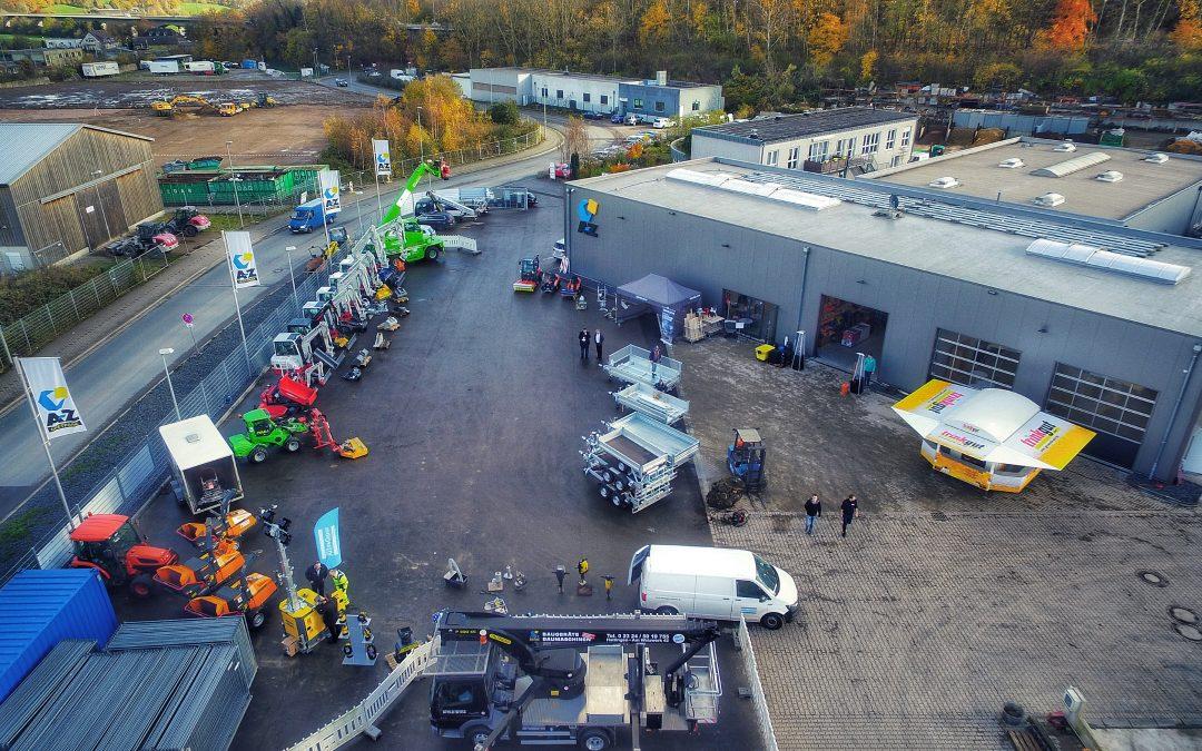 A-Z Baumaschinen eröffnet neuen Hauptstandort in Hattingen