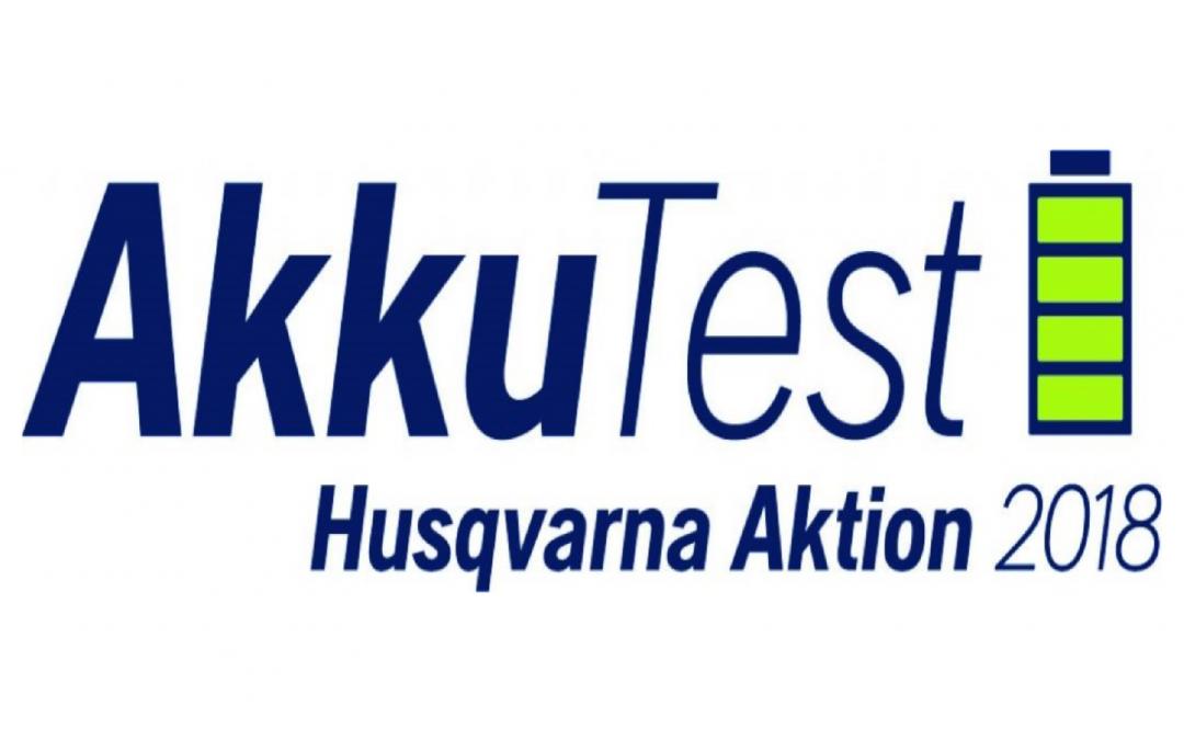 Husqvarna Akku Produkte 1 Tag kostenlos testen